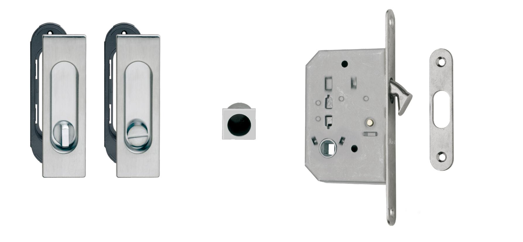 Kit For Sliding Doors 3663ar Lock 61 50 Wc Fimet Maniglie